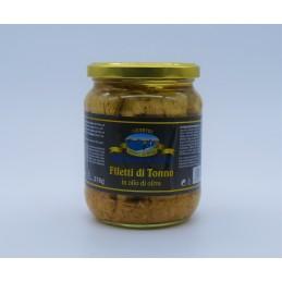 Filetti di Tonno in olio di...